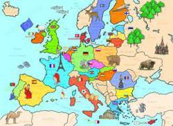 Carte De Leurope Geographique Cycle 3.Europe Lala Aime Sa Classe