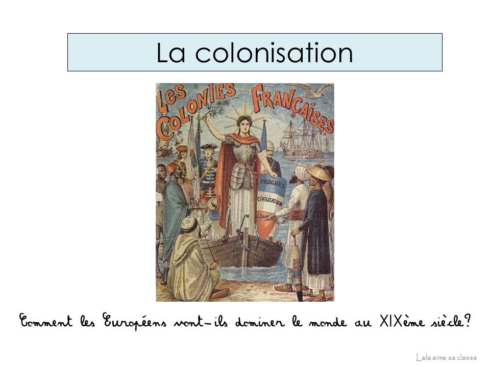 XIX colonisation